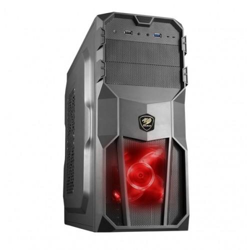 COUGAR Case MX200 Middle ATX BLACK USB 3.0 (ΧΩΡΙΣ PSU)