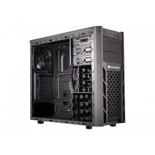 COUGAR Case SOLUTION 2 Middle ATX Black USB 3.0 (ΧΩΡΙΣ PSU)