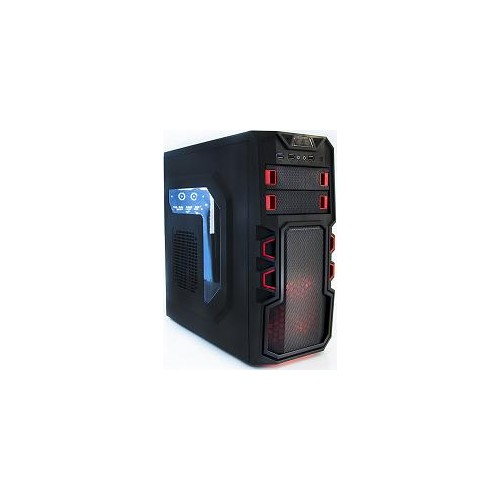 SUPERCASE PC CHASSIS SC-250 RED